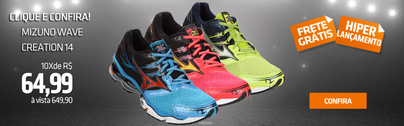 Mizuno wave creation 14.